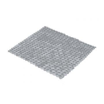 Kleine Wolke Sign antislipmat voor in douche, 55x55 cm, zilver
