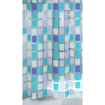 Kleine Wolke Sonny douchegordijn b180xh200 cm, blauw