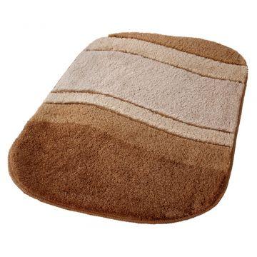Kleine Wolke Siesta badmat b60xd100xh2,5 cm, bamboebeige