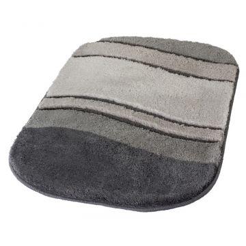 Kleine Wolke Siesta badmat b70xd120xh2,5 cm, antraciet