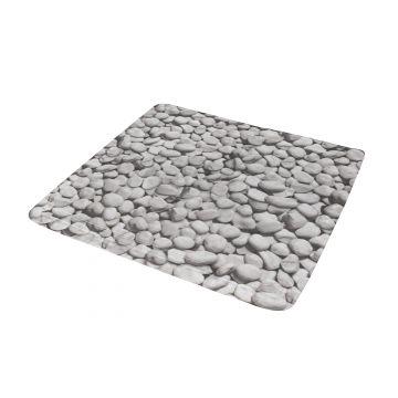 Kleine Wolke Stepstone douchemat b55xd55 cm, grijs