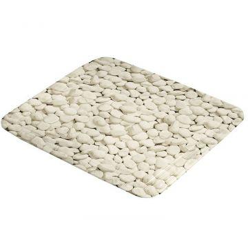 Kleine Wolke Stepstone antislip douchemat 55x55 cm, natuur