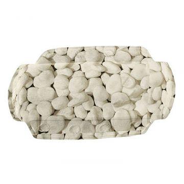 Kleine Wolke Stepstone neksteun 32x22 cm, natuur