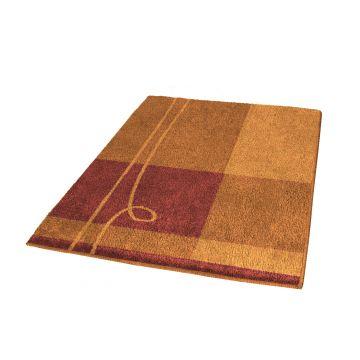 Kleine Wolke Tivoli badmat b60xd90xh2 cm, brandy