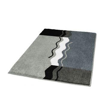 Kleine Wolke Vanessa badmat b70xd120xh2,3 cm, platina