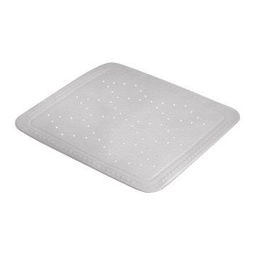 Kleine Wolke Arosa antislip douchemat 55x55 cm, grijs