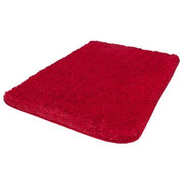 Kleine Wolke Trend badmat 70x120 cm, rood