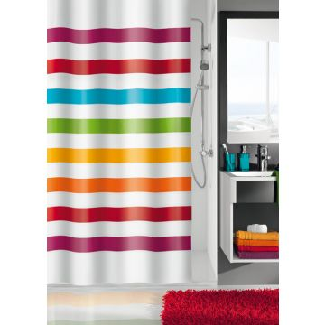 Kleine Wolke Select douchegordijn 180x200 cm, multicolor