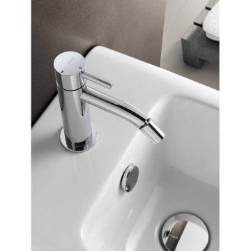 Hotbath Laddy bidetmengkraan zonder waste 15 cm, chroom