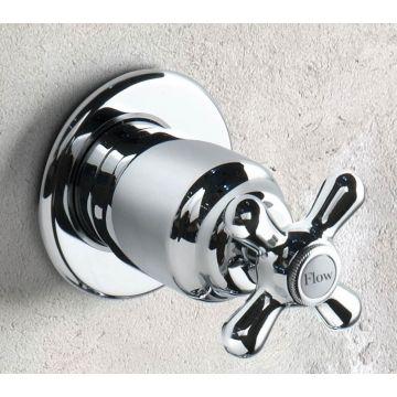 Hotbath Amice inbouw stopkraan, chroom