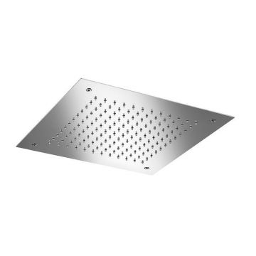 Hotbath Mate inbouw hoofddouche vierkant 38 cm, chroom