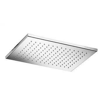 Hotbath Mate opbouw hoofddouche rechthoekig 26x39 cm, chroom
