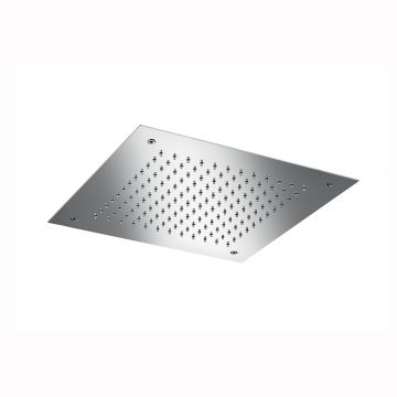 Hotbath Mate inbouw hoofddouche 30x30 cm vierkant, chroom