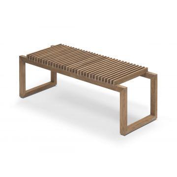 Skagerak Cutter houten bank 121 x 40 x 43,5 cm, teak