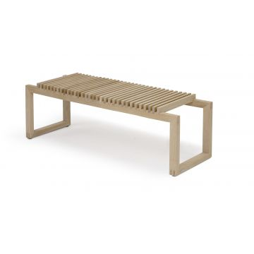 Skagerak Cutter houten bank 121 x 40 x 43,5 cm, eiken