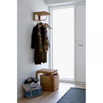 Skagerak Cutter houten badkamerstoel 40 x 40 x 43,5 cm, teak