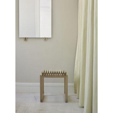 Skagerak Cutter houten badkamerstoel 40 x 40 x 43,5 cm, eiken