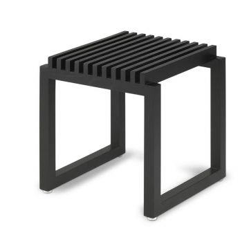 Skagerak Cutter houten badkamerstoel 40 x 40 x 43,5 cm, zwart eiken