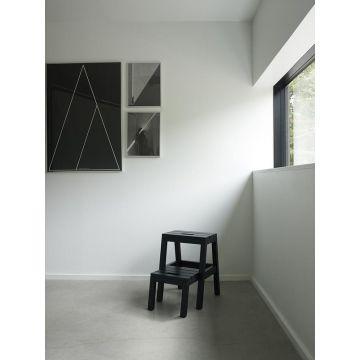 Skagerak Dania opstapkruk 36,5 x 37,5 x 51 cm, zwart eiken