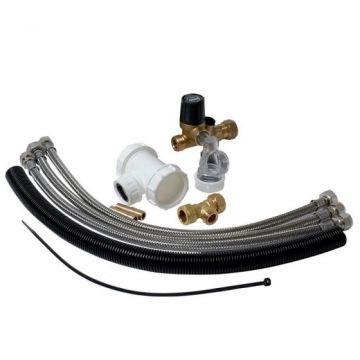 Plieger boileraansluitingset t.b.v. 12 mm-aansluiting
