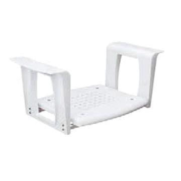 Plieger Comfort Life badzit verstelbaar 65-72 cm 38x42 cm, max. 110kg wit