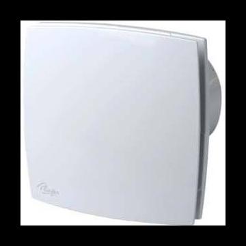 Plieger ventilator design 90m³ ø 100 mm met timer wit