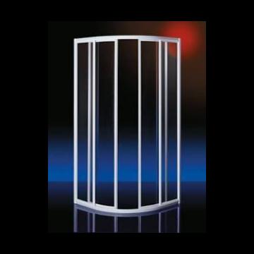 Plieger Class douchecabine kwartrond 3 mm glas 88/92x185 cm, wit