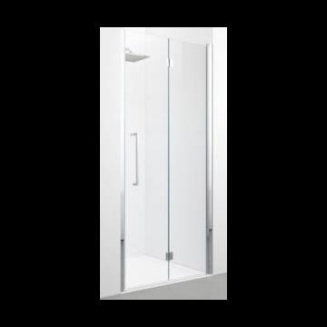 Novellini Young 2.0 1BS vouwdeur voor nis 97/101 cm x 200 cm rechts, chroom/helder