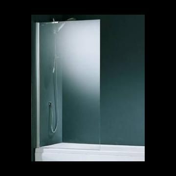 Novellini Aurora 5 badwand 1-delig 75x150 cm, chroom helder