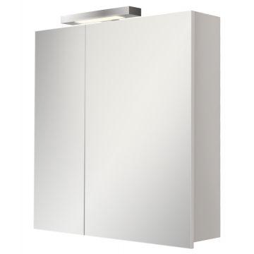 Sub 480 spiegelkast 60x61,7 cm, hoogglans wit