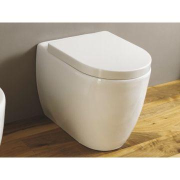 Sub 260 spoelrandloos hangend toilet, diepspoel, PK, exclusief toiletzitting, wit