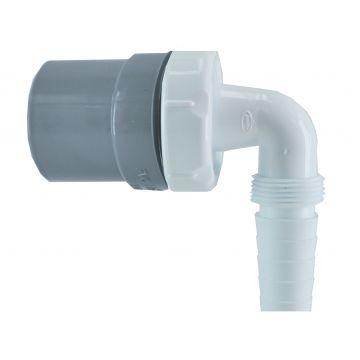 Sub PVC machine aansluiting recht 40 mm