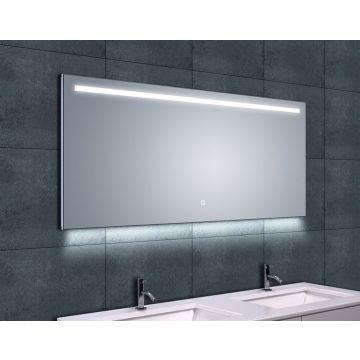 Wiesbaden Ambi One spiegel 140x60 cm met dimbare LED-verlichting en spiegelverwarming