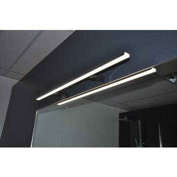 Wiesbaden Tigris LED-verlichting 80 cm 6W 220V, chroom