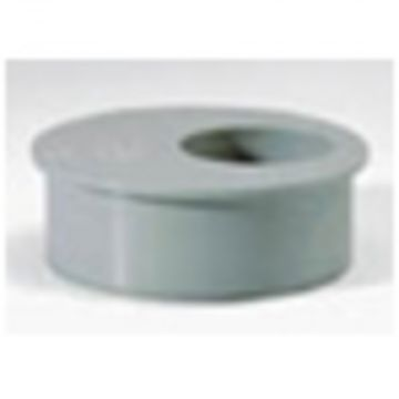 Sub PVC verloopring grijs 110x40
