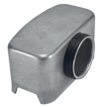 Wiesbaden 3e generatie sifon inzetstuk voor douchegoot ø3,7 cm, grijs