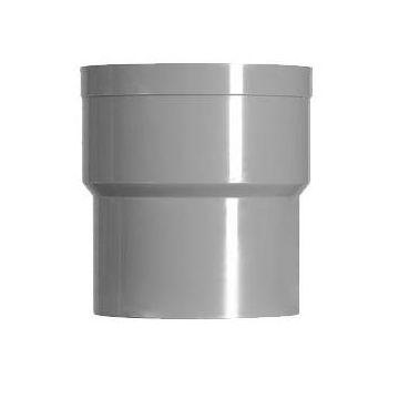 Sub hwa verbindingstuk grijs mof/verj.spie 70 mm