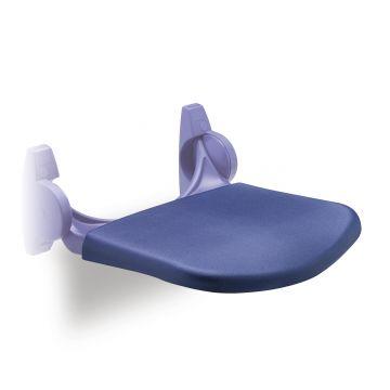 Linido zachte comforthoes voor ergonomische douchezitting, blauw