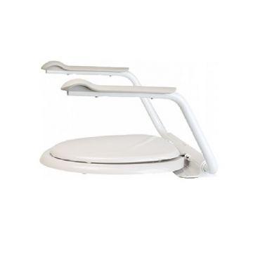 Etac Supporter II toiletsteun 41,5x60 cm, max 150kg, wit