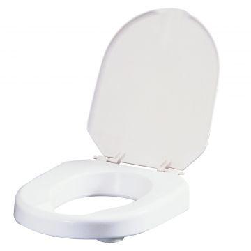 Etac Hi-Loo toiletverhoger 6 cm met deksel max 150kg, wit