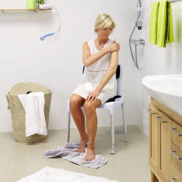 Etac Swift douche-/toiletstoel staand 42x57 cm, max 130kg, grijs