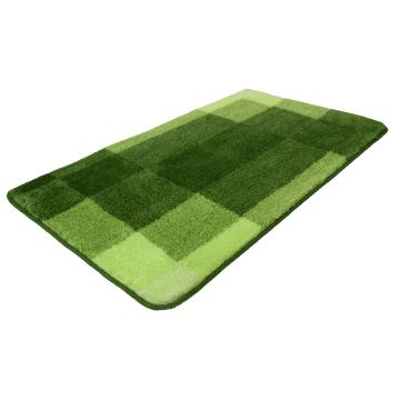 Kleine Wolke Mix badmat 60x100x2 cm, kiwigroen