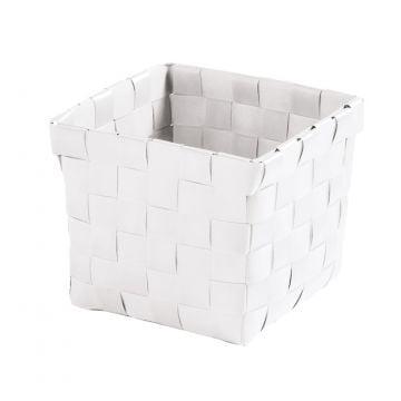 Kleine Wolke Brava opbergbox S 11,5x11,5x10 cm, wit