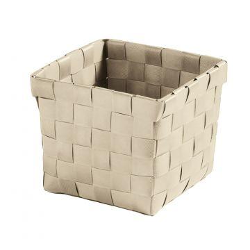 Kleine Wolke Brava opbergbox S 11,5x11,5x10 cm, natuur