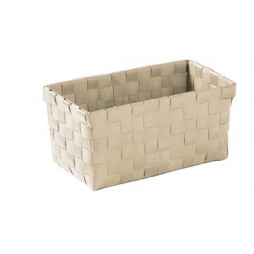 Kleine Wolke Brava opbergbox M 21,5x11 9,5 cm, natuur