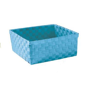 Kleine Wolke Brava opbergbox L 23x23x10,5 cm, turquoise
