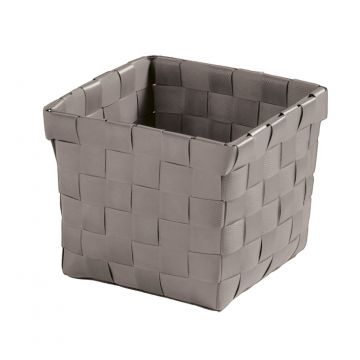 Kleine Wolke Brava opbergbox S 11,5x11,5x10 cm, platina