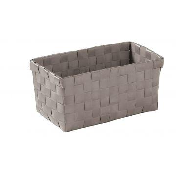 Kleine Wolke Brava opbergbox M 21,5x11 9,5 cm, platina