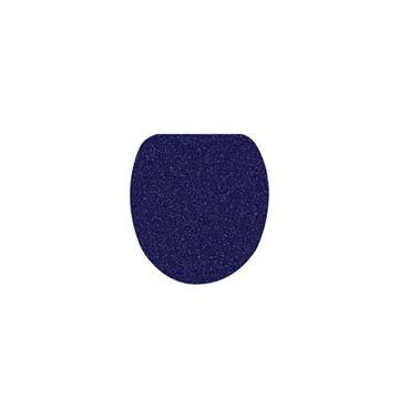 Kleine Wolke Soft toiletcover 47x50x2 cm, donkerblauw