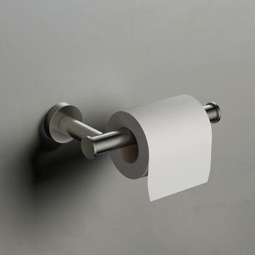 Hotbath Cobber toiletrolhouder zonder klep 4 x 16,5 x 8,3 cm, mat zwart